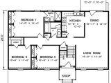 Floor Plans for Split Level Homes 1970s Split Level House Plans Split Level House Plan