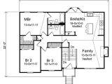 Floor Plans for Split Level Homes Oaklawn Split Level Home Plan 058d 0069 House Plans and More