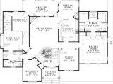 Floor Plans for Split Level Homes Split Floor Plans Ranch House Plan Anacortes 30 936 Floor