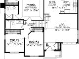 Floor Plans for Split Level Homes Split Level Home Plan 8963ah Architectural Designs