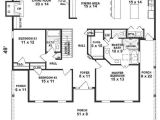 Floor Plans for Square Homes One Story House Plans 1500 Square Feet 2 Bedroom