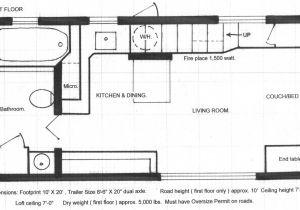 Floor Plans for Tiny Homes Tiny House Chris Heininge Construction