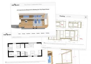 Floor Plans for Tiny Homes Tiny House On Wheels Floor Plans Pdf for Construction