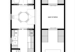 Floor Plans for Tiny Homes Tiny House On Wheels Floor Plans Trailer Effective and