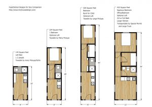 Floor Plans for Tiny Homes Tiny House Trailer Plans who Insists On Living Comfort and