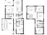 Floor Plans for Two Bedroom Homes House Plans 4 Bedroom 2 Story Home Plans for Entertaining