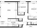 Floor Plans for Two Bedroom Homes Two Bedroom House Floor Plans Com with for A Best Popular