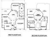 Floor Plans for Two Story Houses House Plans Two Story Smalltowndjs Com