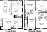 Floor Plans for Two Story Houses Restore the Shore Collection by Ritz Craft Custom Homes