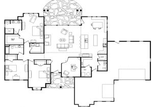 Floor Plans Home Open Floor Plans One Level Homes Open Floor Plans Ranch