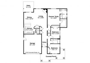 Floor Plans Of Homes Craftsman House Plans Carlton 30 896 associated Designs