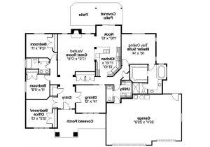 Floor Plans Of Homes Craftsman House Plans Goldendale 30 540 associated Designs