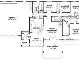 Floor Plans Of Homes Ranch House Plans Elk Lake 30 849 associated Designs