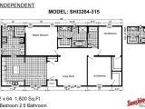 Floor Plans Of Mobile Homes Sunshine Homes