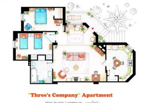 Floor Plans Of Tv Homes 10 Of Our Favorite Tv Shows Home Apartment Floor Plans