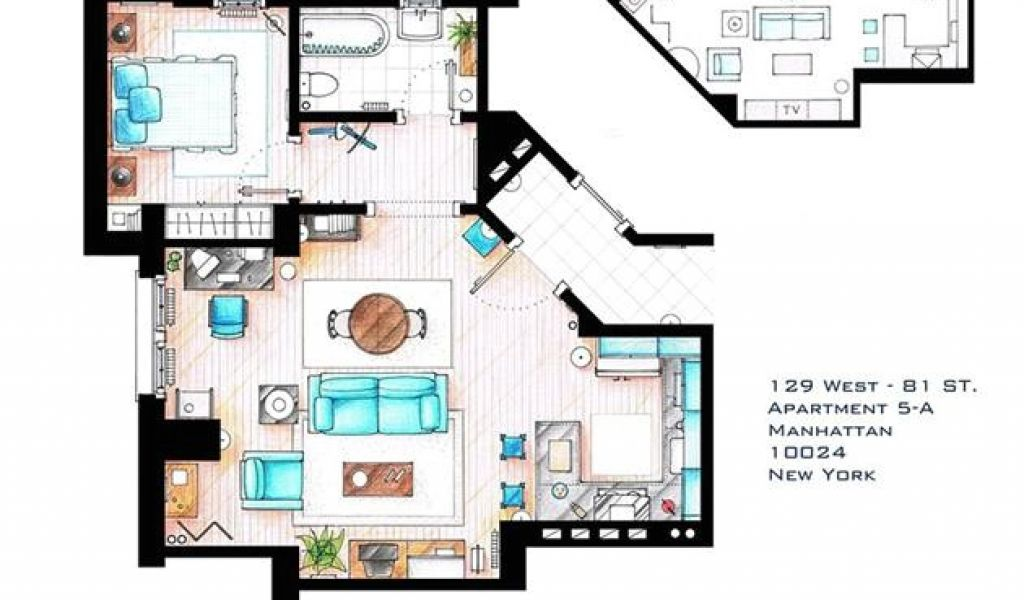 Floor Plans Of Tv Homes Famous Television Show Home Floor Plans