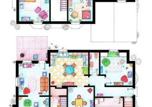 Floor Plans Of Tv Homes Famous Television Show Home Floor Plans Tcmag Com