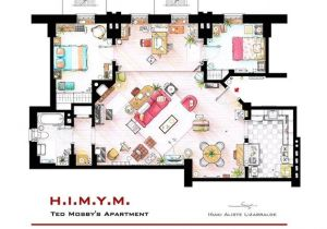 Floor Plans Of Tv Homes Famous Television Show Home Floor Plans Tigerdroppings Com
