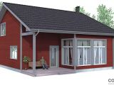 Floor Plans Small Homes Small House Plan Ch92 with Affordable Building Price and