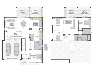 Floor Plans Split Level Homes the Horizon Split Level Floor Plan by Mcdonald Jones