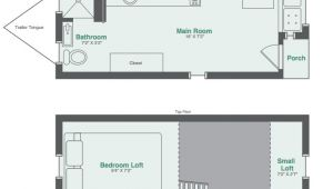 Floor Plans Tiny Homes Monarch Tiny Homes Makes This 8×20 Tiny House Model
