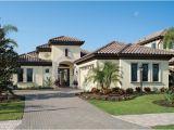 Florida Custom Home Plans Bardmoor 1172 Mediterranean Exterior Tampa by