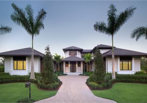 Florida Custom Home Plans Custom Dream Home In Florida with Elegant Swimming Pool