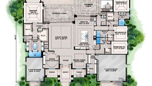 Florida Home Plans Blueprints Florida Home Plans with Pool Homes Floor Plans