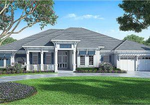 Florida Home Plans Florida House Plan with Detached Bonus Room 86017bw