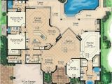 Florida Home Plans with Lanai Lanai Access for All 24104bg 1st Floor Master Suite