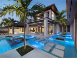 Florida Home Plans with Pool Custom Dream Home In Florida with Elegant Swimming Pool