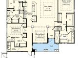 Florida House Plans with 2 Master Suites Dual Master Suite Energy Saver 33095zr 1st Floor