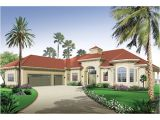Florida Style Home Plans San Jacinto Florida Style Home Plan 032d 0666 House