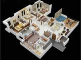 Four Bedroom Home Plans 50 Four 4 Bedroom Apartment House Plans Architecture
