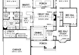 Four Bedroom House Plans with Basement 4 Bedroom House Plans One Story with Basement Images