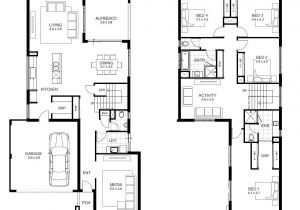 Four Bedroom House Plans with Basement 4 Bedroom Ranch House Plans with Walkout Basement 28