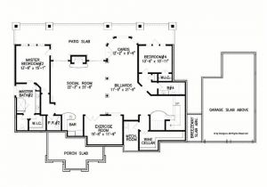 Four Bedroom House Plans with Basement Basement House Plans with 4 Bedrooms New Eplans Ranch