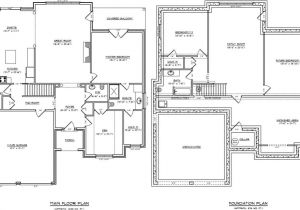 Four Bedroom House Plans with Basement One Story with Basement House Plans Beautiful Projects