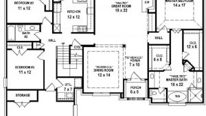 Four Bedroom Three Bath House Plans 4 Bedroom 3 Bath House Plans 2018 House Plans and Home