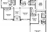 Four Bedroom Three Bath House Plans 654254 4 Bedroom 3 Bath House Plan House Plans Floor