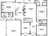 Four Bedroom Three Bath House Plans 654257 Great Looking 4 Bedroom 3 5 Bath House Plan