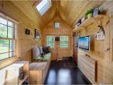 Four Lights Tiny House Plans Mobile Tiny Tack House is Entirely Built by Hand and