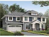 Four Square House Plans with Garage Four Square House Plans with attached Garage Luxury 399