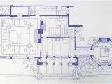 Frank Lloyd Wright Home and Studio Floor Plan Frank Lloyd Wright Studio Blueprint by Blueprintplace On