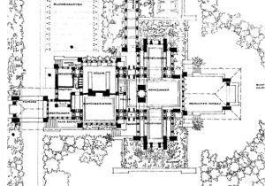 Frank Lloyd Wright Home Design Plans Centred Peripheral and Dispersed Plan Types