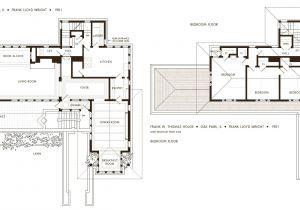 Frank Lloyd Wright Home Design Plans Frank Lloyd Wright Robie House Floor Plans Oak Building