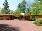Frank Lloyd Wright Home Plans for Sale Rare Frank Lloyd Wright Designed Prefab for Sale In Hudson
