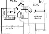 Frank Lloyd Wright Style Home Plans Frank Lloyd Wright Inspired Home Plan 85003ms 1st