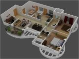 Free 3d Home Plans 3d Small House Plans Trends with 3 Bedroom Houseplan