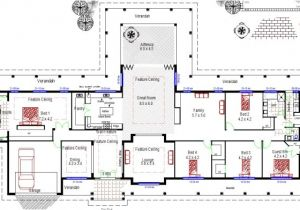 Free Australian House Designs and Floor Plans Acreage House Design Homestead Colonial Large 4 Bedroom